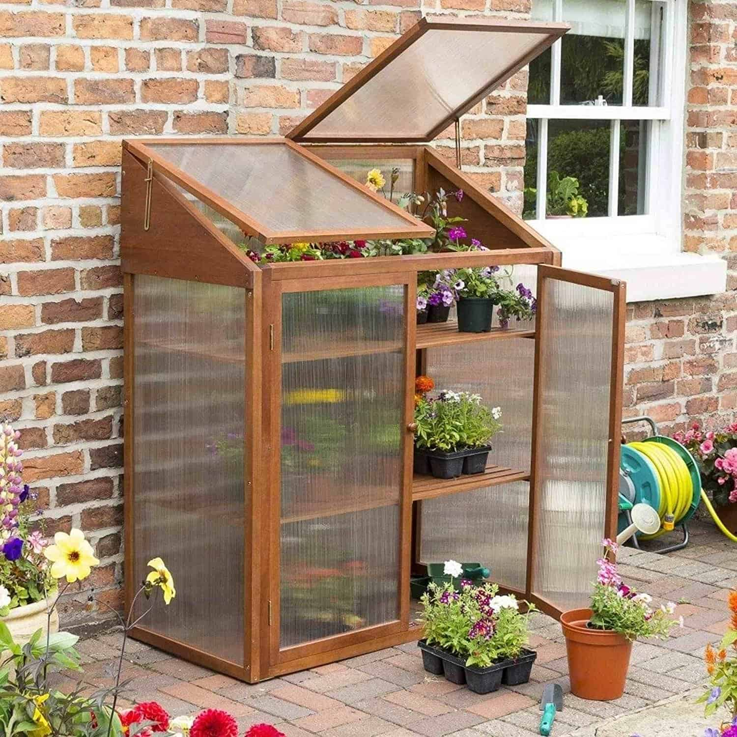 Best Small Greenhouse – Rowlinson Hardwood Mini Greenhouse