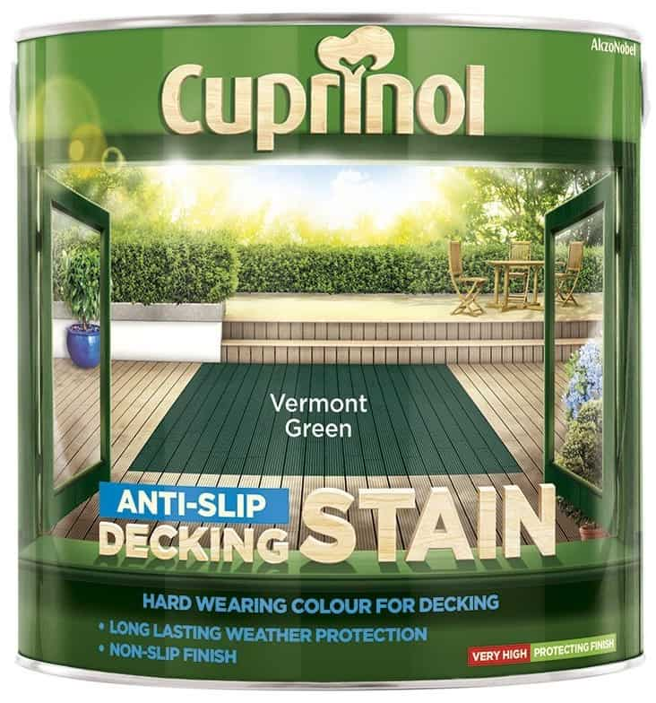 Cuprinol Anti Slip Decking Stain – Vermont Green