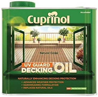 Cuprinol Decking Oil and Protector – Natural Cedar