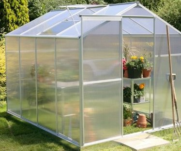 Lacewing Aluminium Frame Greenhouse
