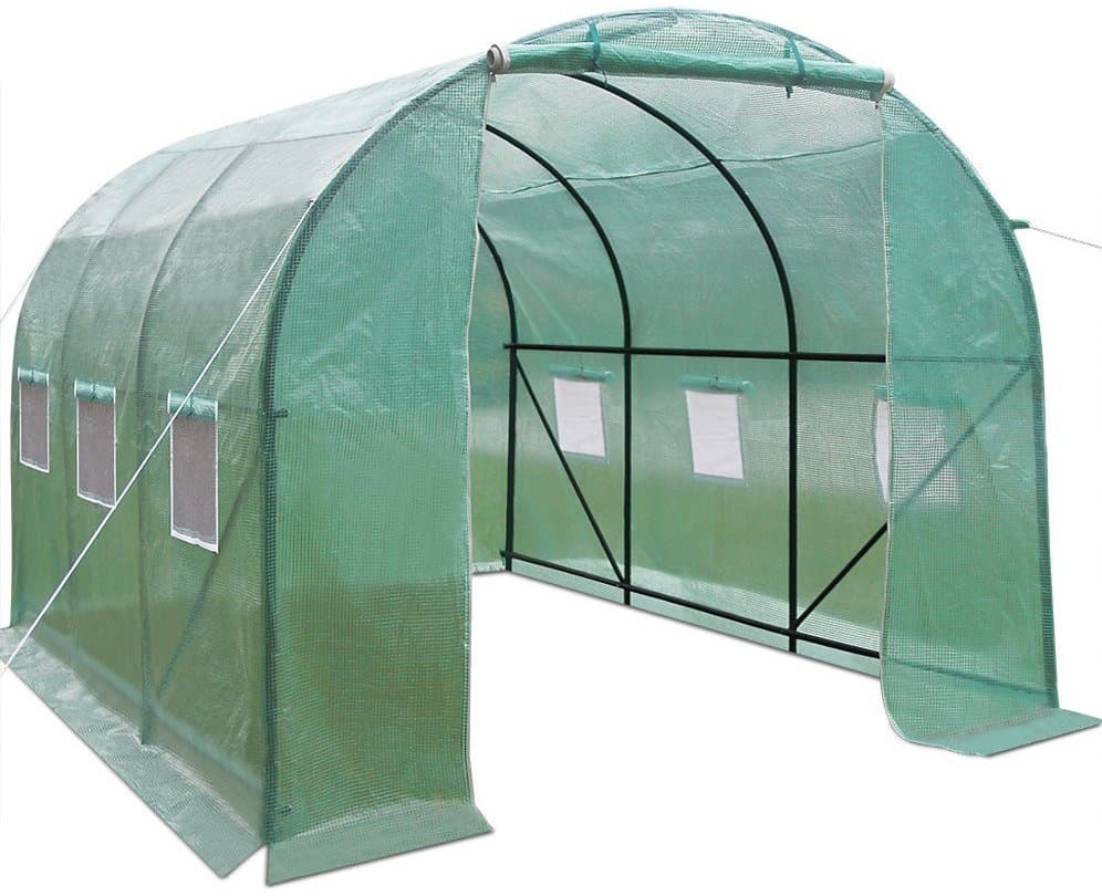 Polytunnel Greenhouse High Walk-In