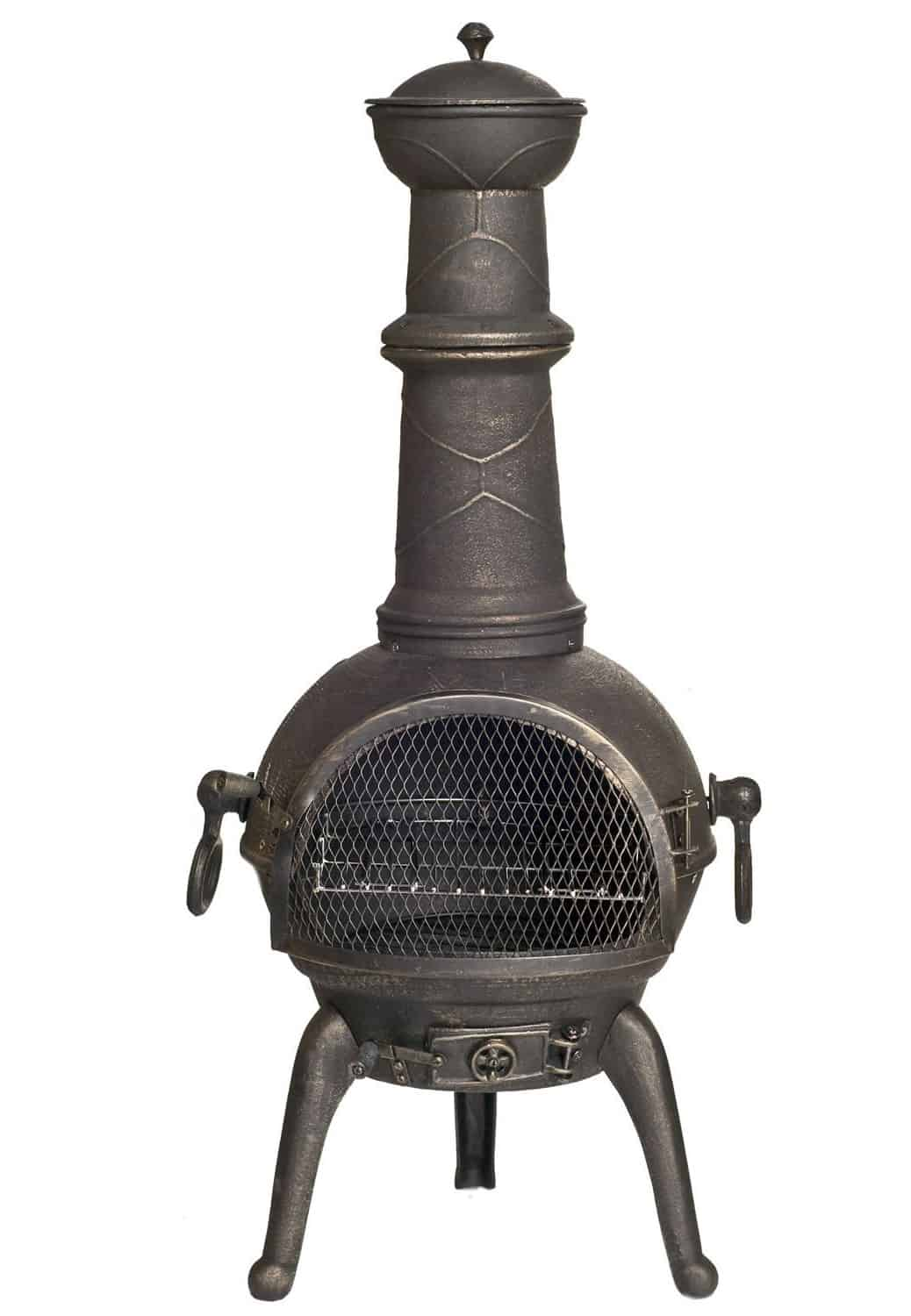 Best Cast Iron Chimenea – La Hacienda Sierra Cast Iron Chimenea
