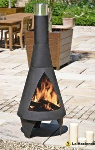 Best Chimenea Outdoor Fireplace – La Hacienda Extra Large Colorado Chimenea Outside Fireplace