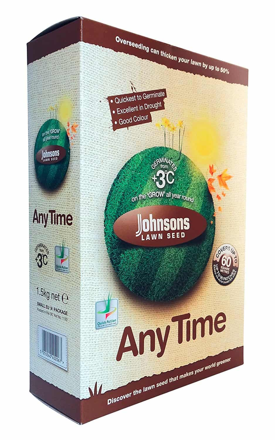 ohnsons Any Time Lawn Seed