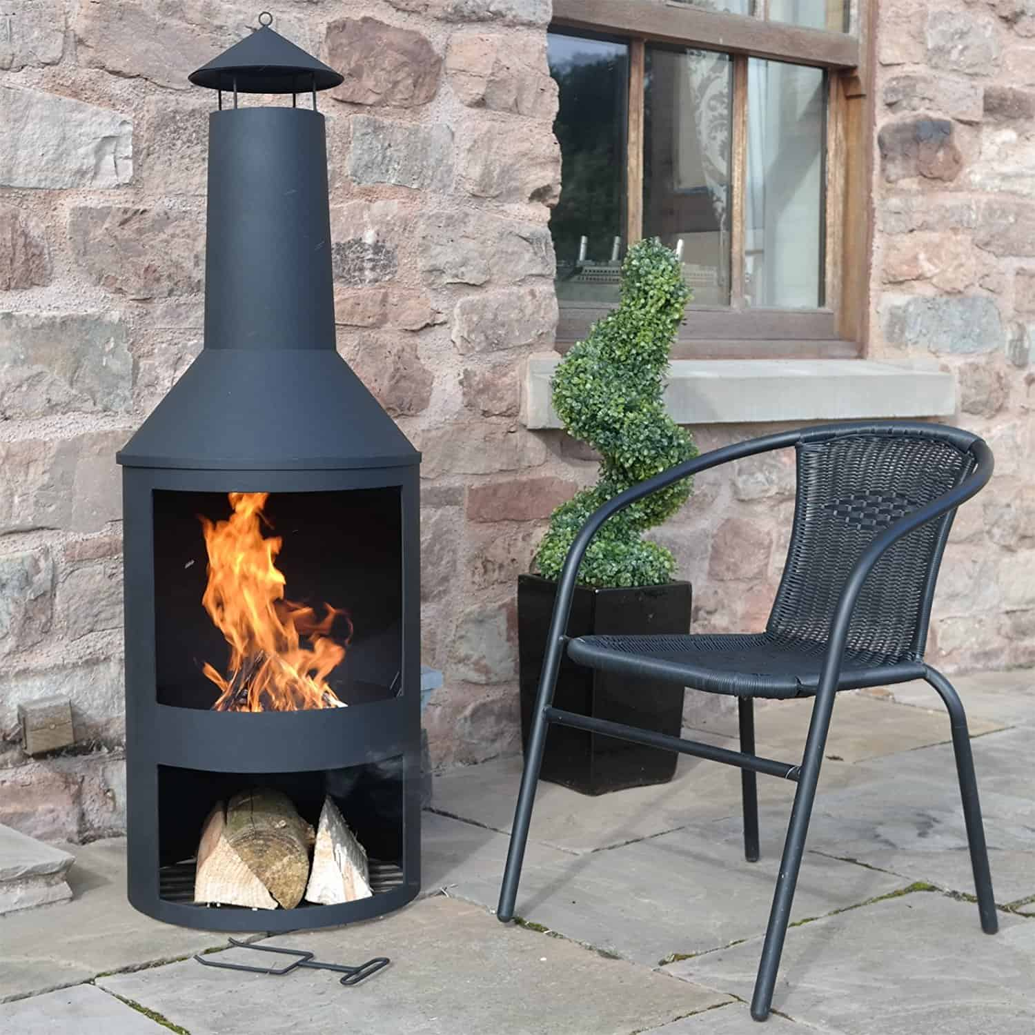 Marko Outdoor Extra Large Chimenea