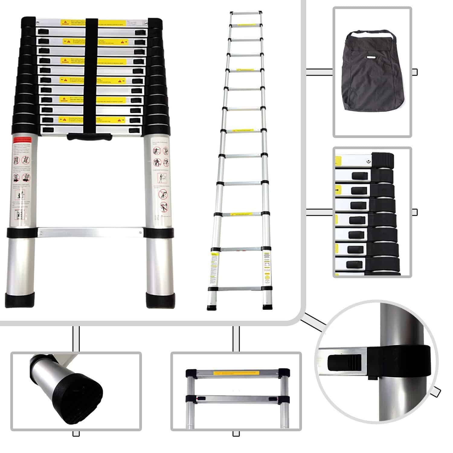 Todeco – Foldable Telescopic Ladder