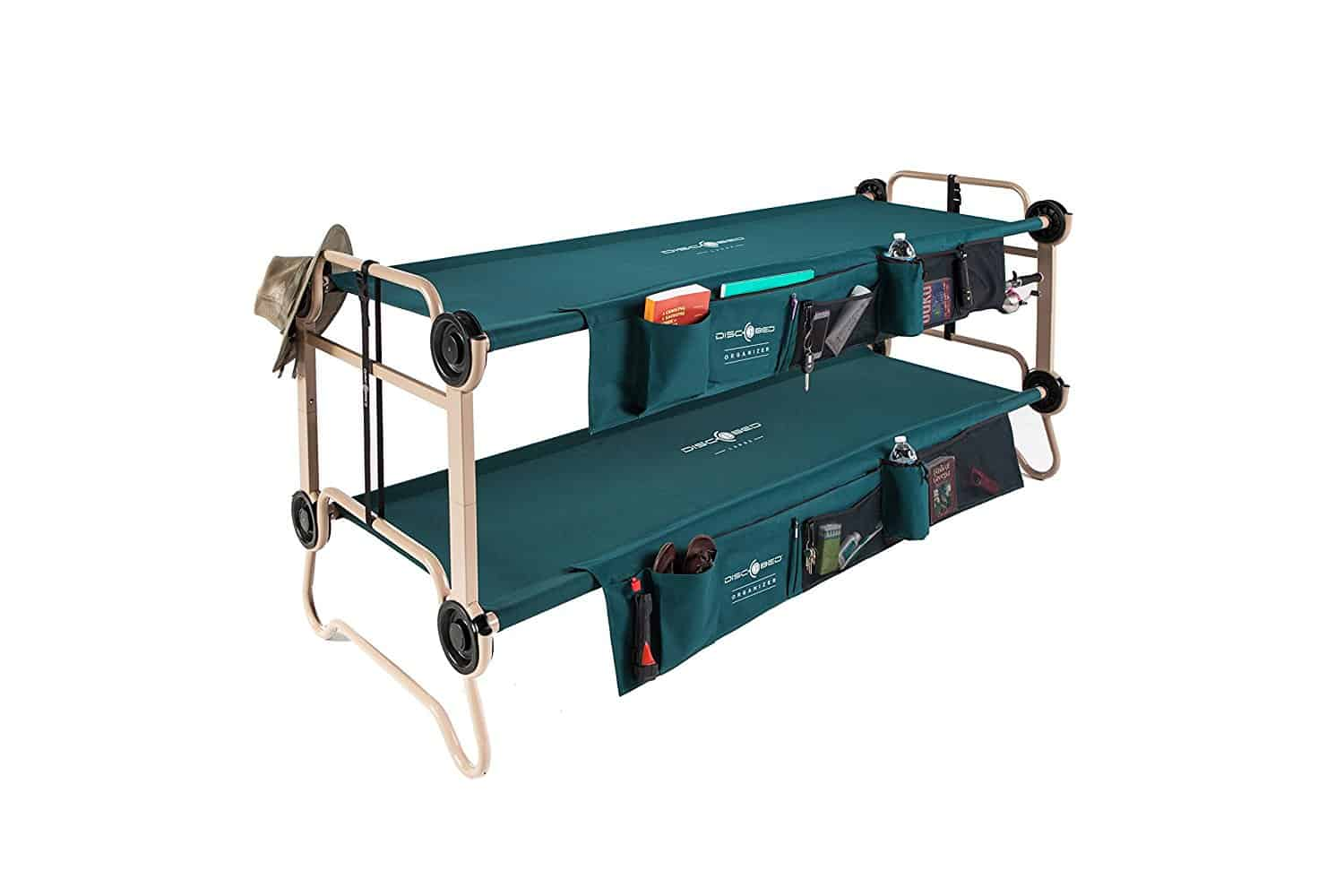 Disc-O-Bed Bunk Bed Large with Side Pockets