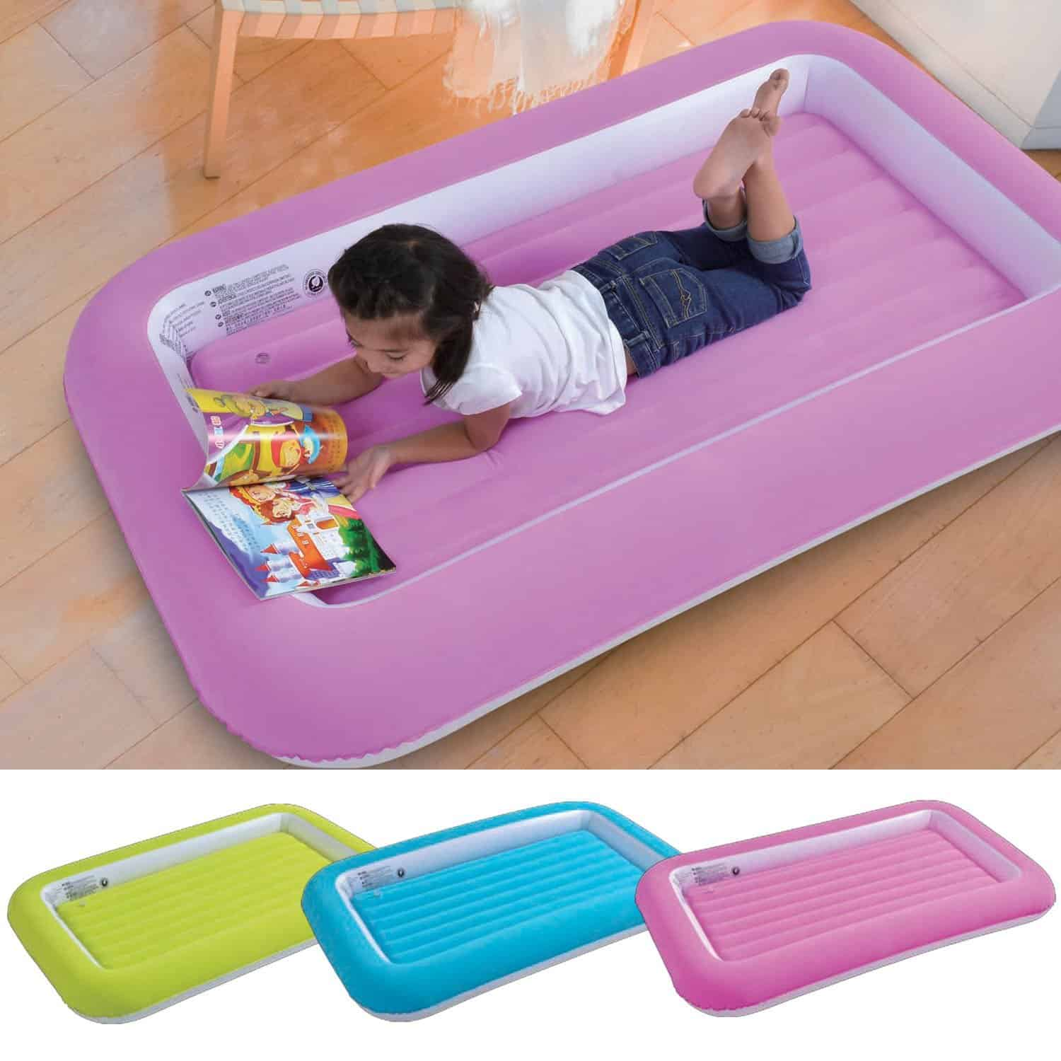 Parkland® Kid's Children's Inflatable Safety Flocked Airbed
