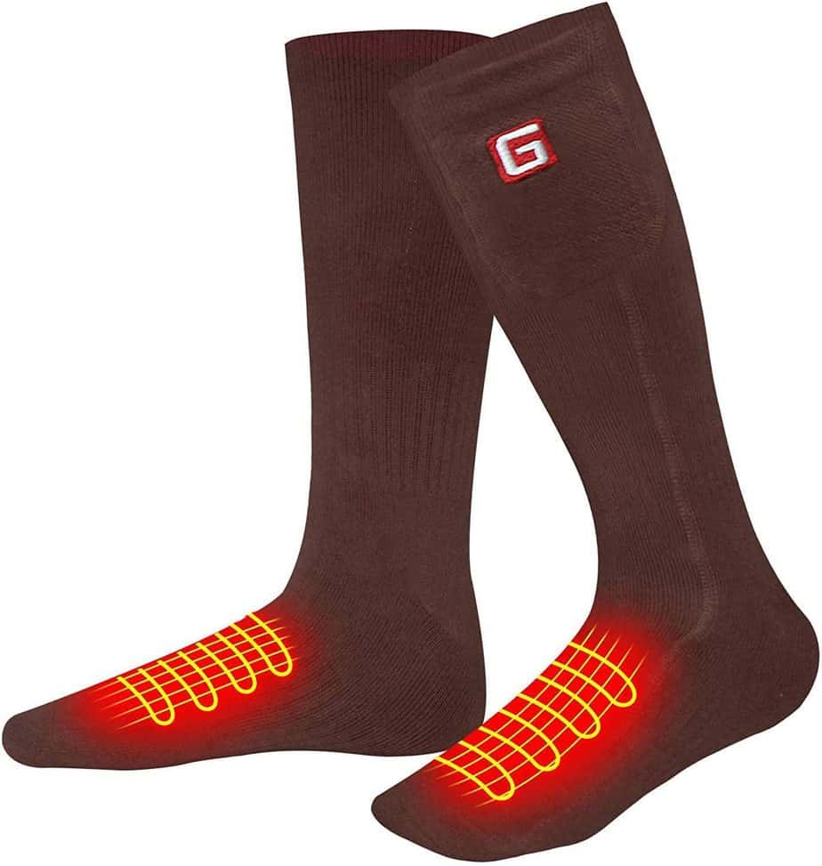 Svpro rechargeable heated socks